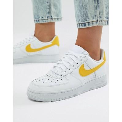 air force 1 blanche et jaune