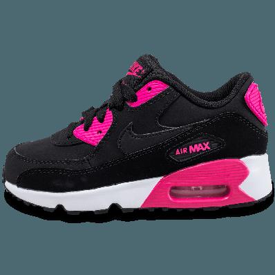 air max 90 femme noir et rose