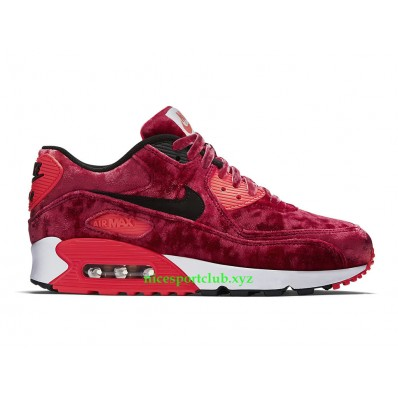 air max 90 femme rouge