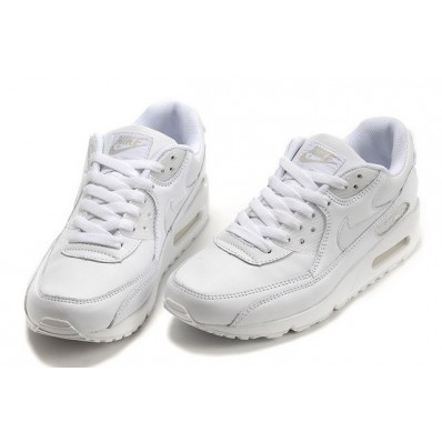 air max 90 leather blanc