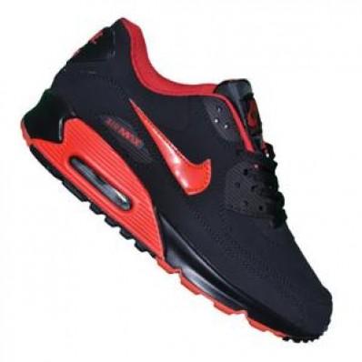 air max 90 noir et rouge