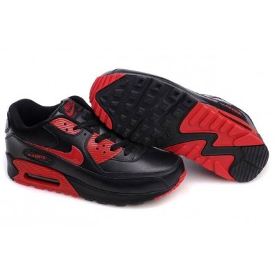 air max 90 rouge noir