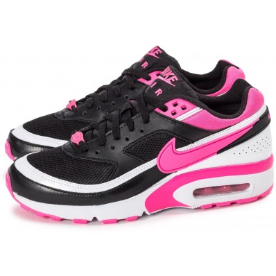 brand new 8af4b 16d9c air max bw rose et noir