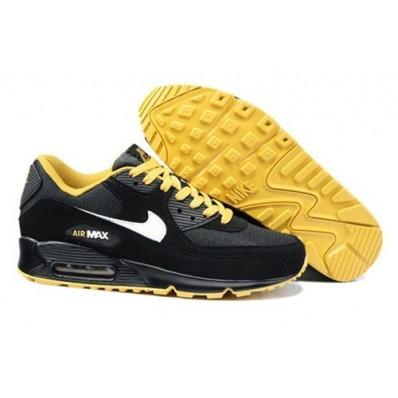 air max noir jaune