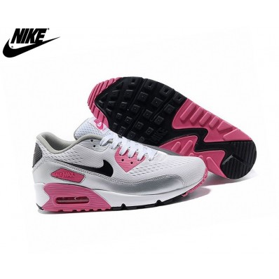 basket fille nike air max rose