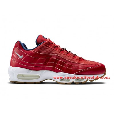 basket homme air max rouge