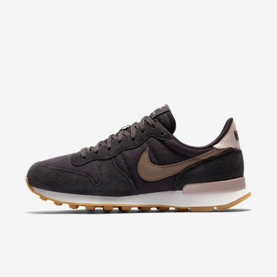 basket nike internationalist rose femme