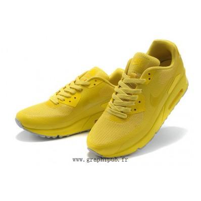 nike air max homme jaune