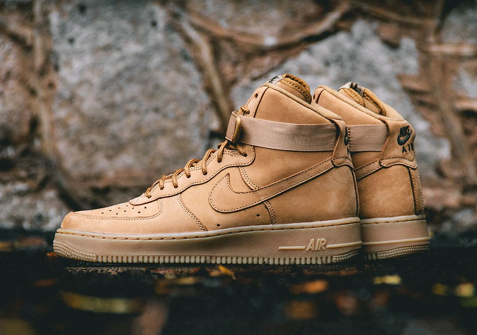 Nike Air Force 1 High Wheat Flax 2016 | SneakerFiles