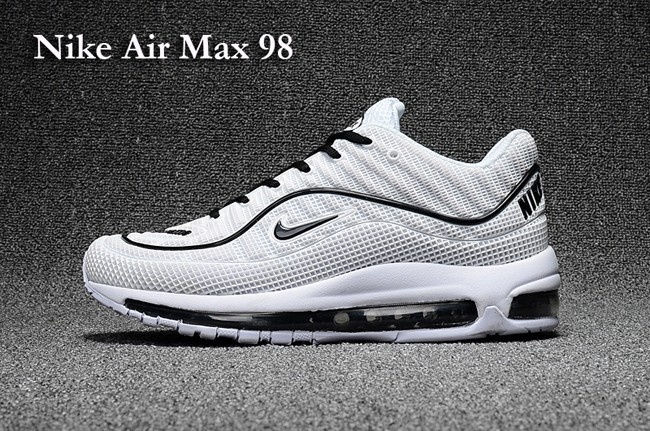 nike air max 98 noires et blanches
