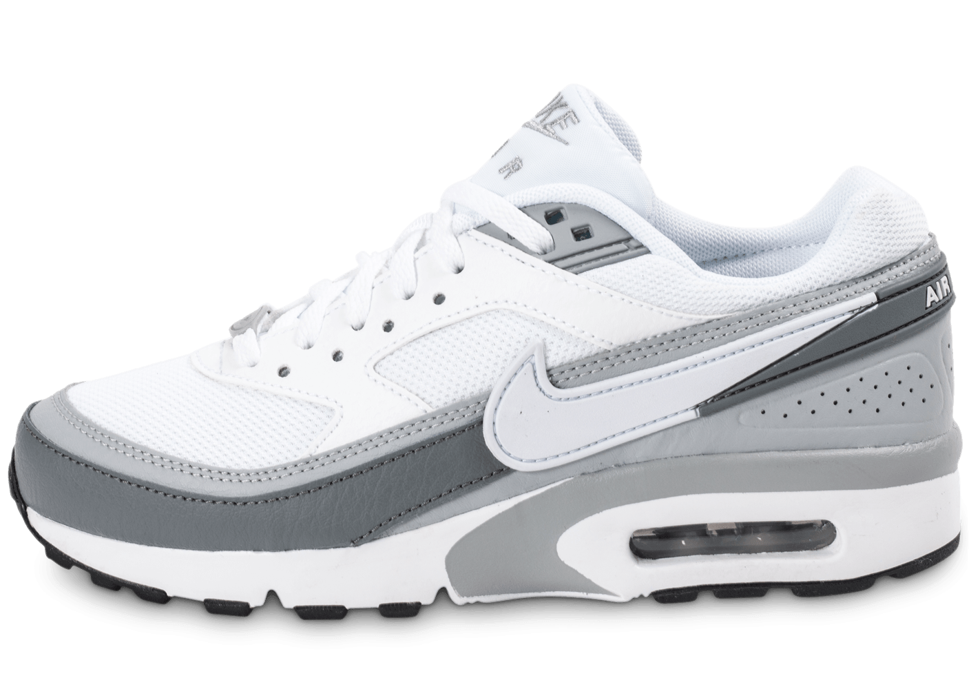 Baskets Nike Air Max BW Ultra Leather anthracite BlancGris