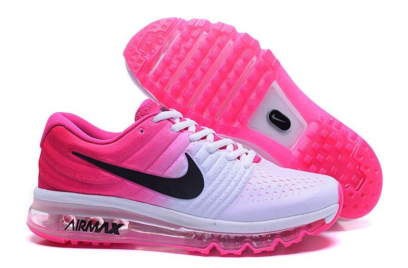 Baskets Nike Air Max Rose Fluo
