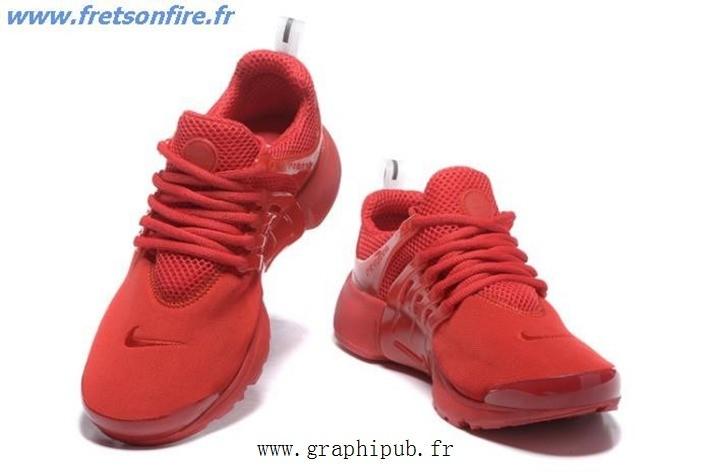 basket nike rouge femme