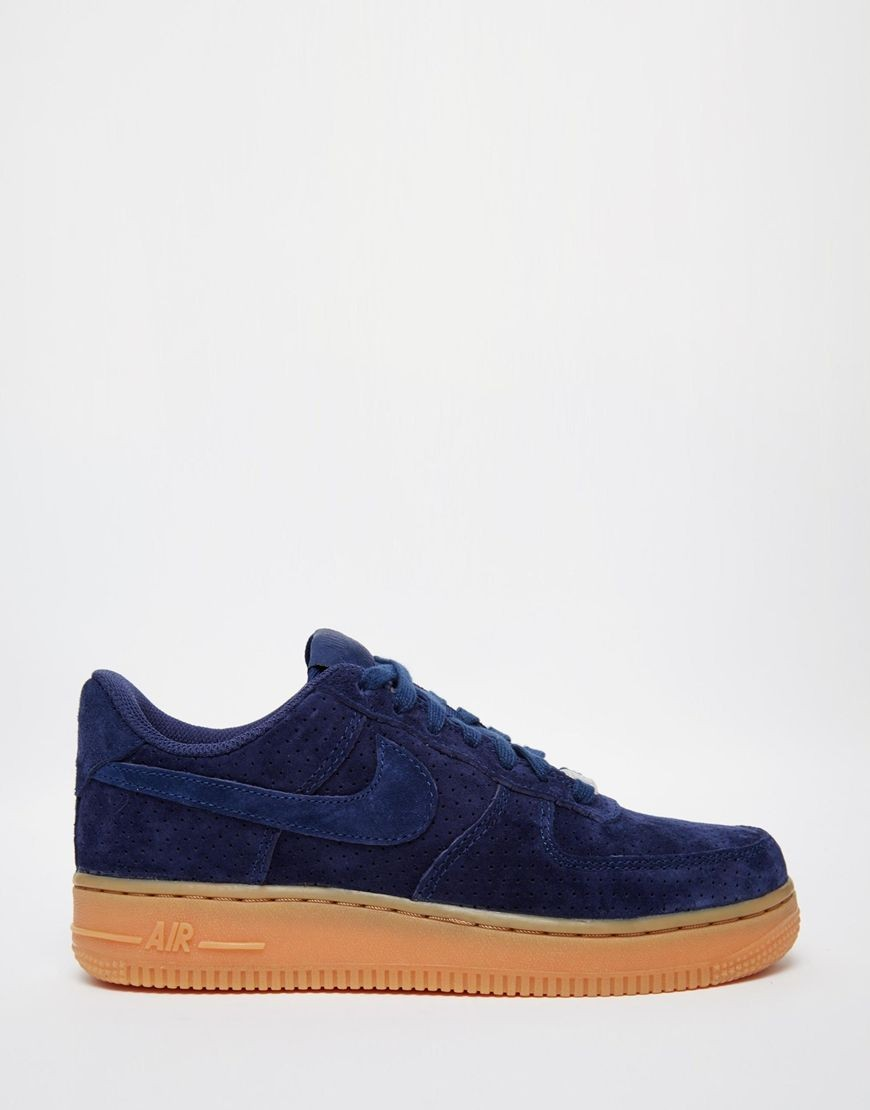 air force 1 noir daim