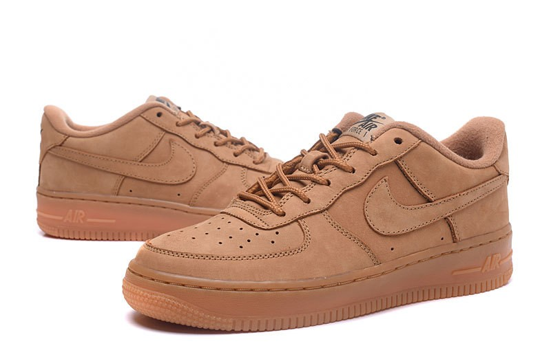 nike air force 1 noir marron