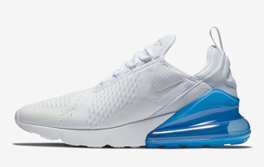 nike air max 270 bleu blanc