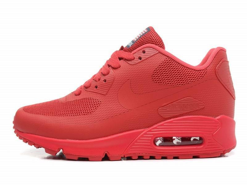 air max femmes 90 rouge