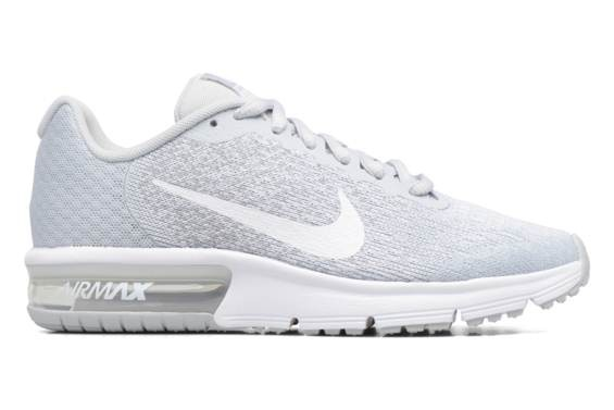 Nike Air Max Sequent 2, Chaussures de Running Fille, Vert