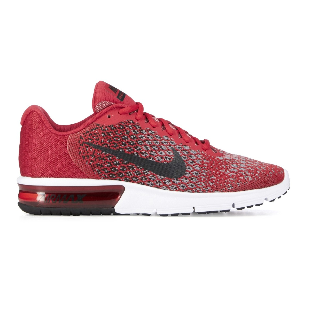 nike air max sequent 2 rouge homme