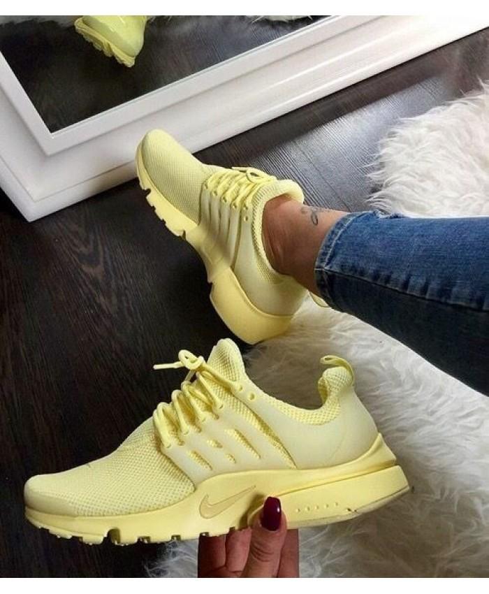 nike air presto jaune