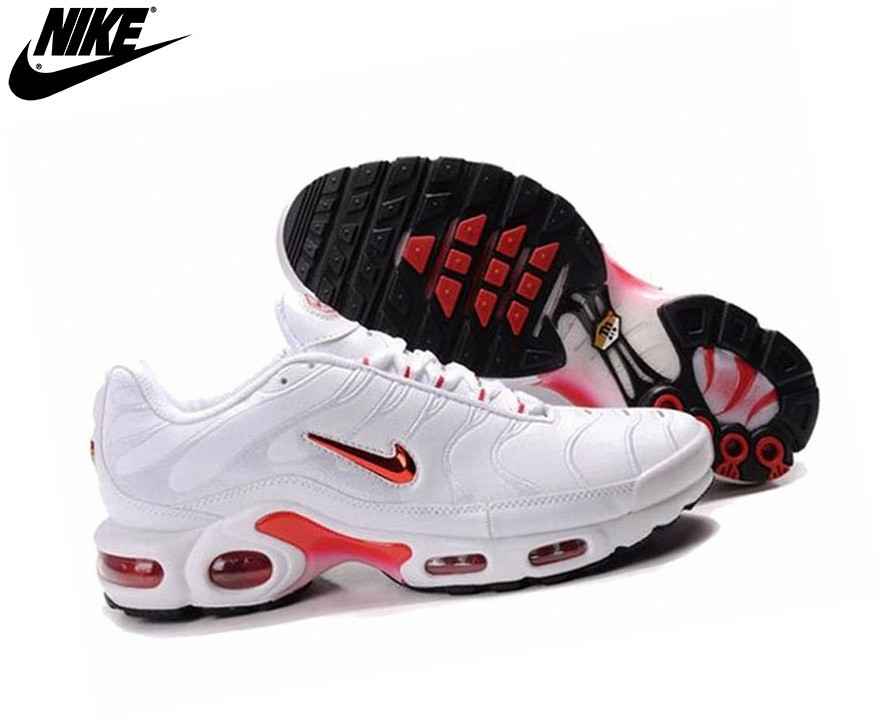 air max tn blanche et rouge