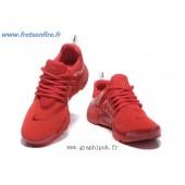 basket nike presto rouge femme