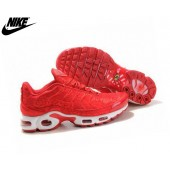 nike air max plus rouge