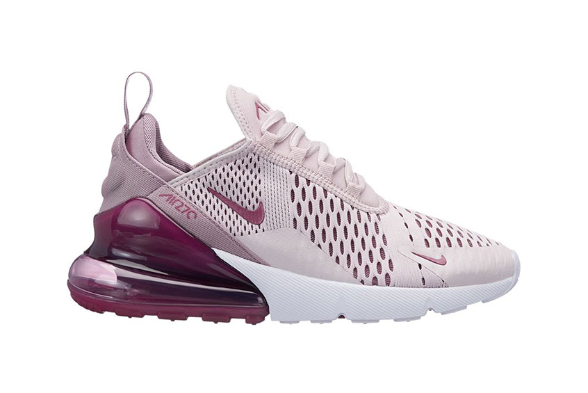 Zoom sur la Nike Air Max 270 Elemental Rose | Chausport