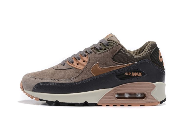 air max 90 marron gris rose