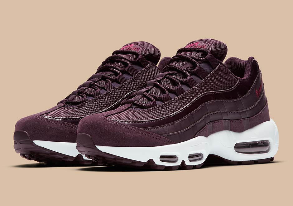 Nike Air Max 95 307960 602 Port WineBordeaux Blanche