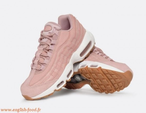 air max chaussure rose pale