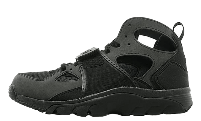 Nike Air Trainer Huarache 'Triple Black' GS Where to buy