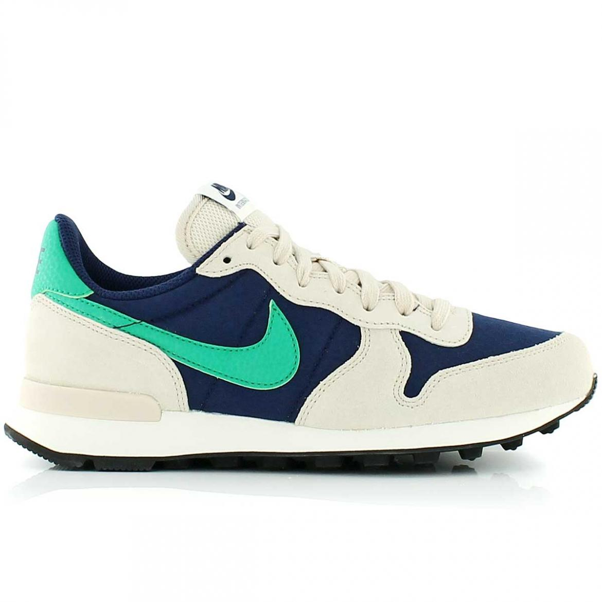 nike internationalist bleu femme